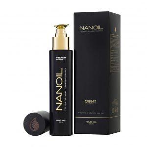 olejek do włosów Nanoil siła natury dla twoich włosów